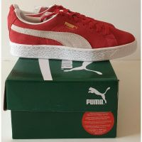 Puma Suede - Classic Red and White homme - 1
