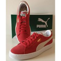 Puma Suede - Classic Red and White homme - 2