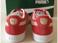 Puma Suede - Classic Red and White homme - 4