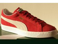 Puma Suede Classic Red and White - 0