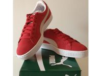 Puma Suede - Classic Red and White homme - 0