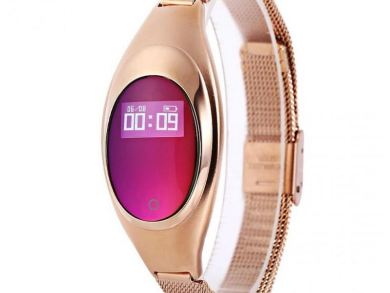 Eclock - Montre à Quartz Bracelet Rose Gold en Acier Inoxidable EKJ2W18 - 1