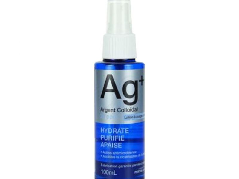 AG+ : Argent Colloidal 20 ppm 100Ml - 2