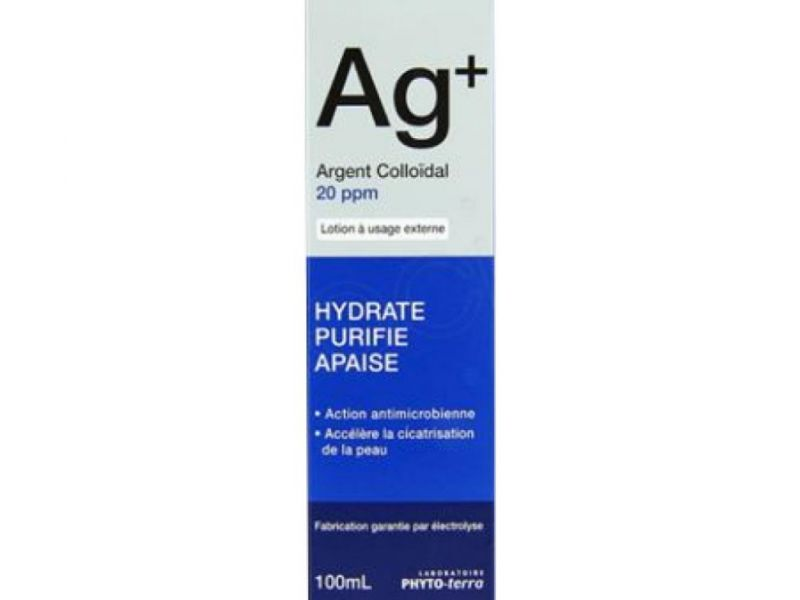 AG+ : Argent Colloidal 20 ppm 100Ml - 3