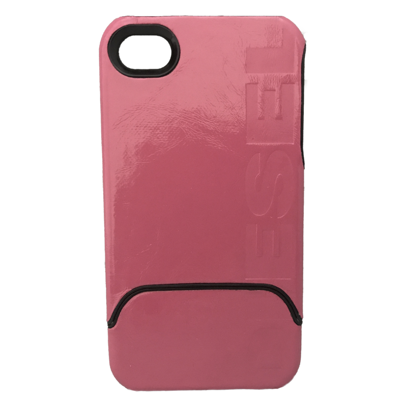 Coque similicuir iPHONE 4/4S - 0