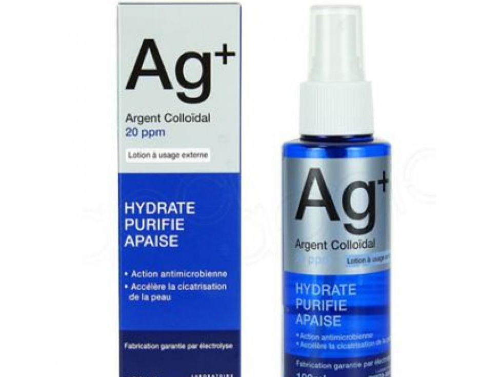 AG+ : Argent Colloidal 20 ppm 100Ml