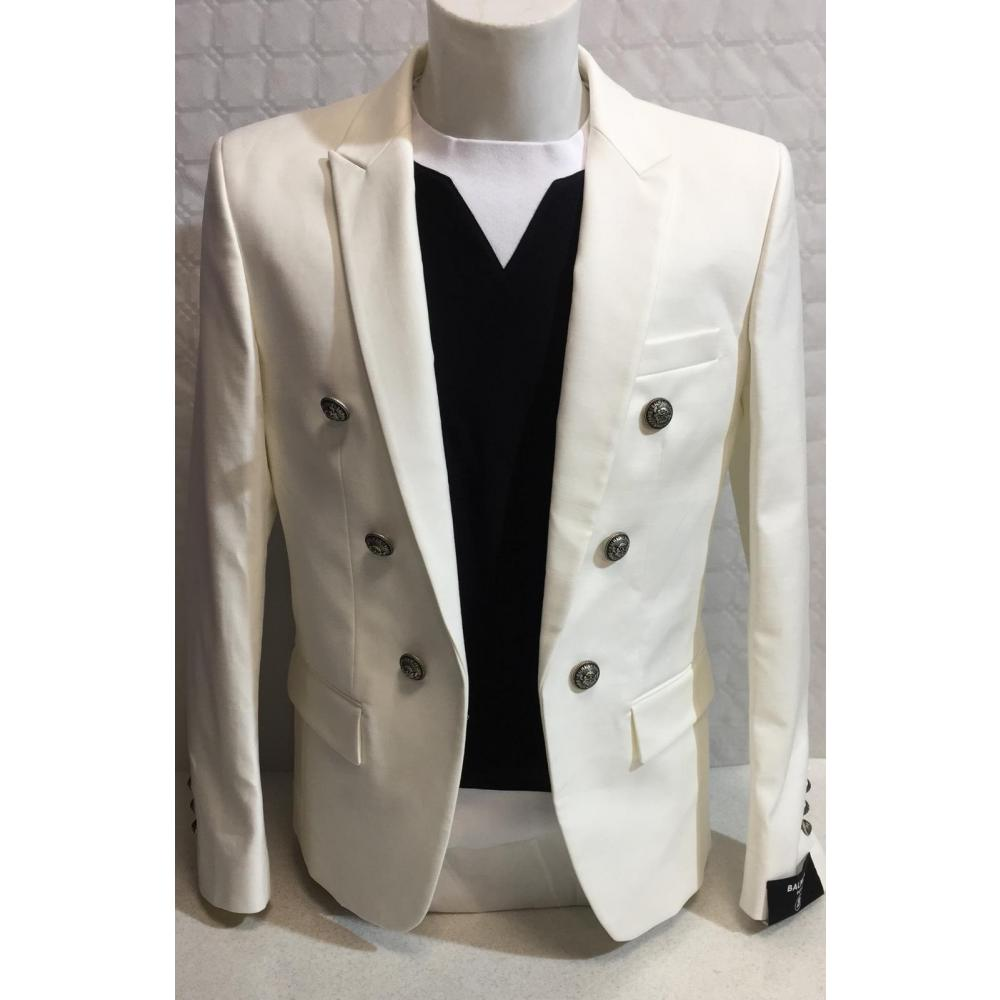 Costume Balmain Homme Lot De 2 Pcs