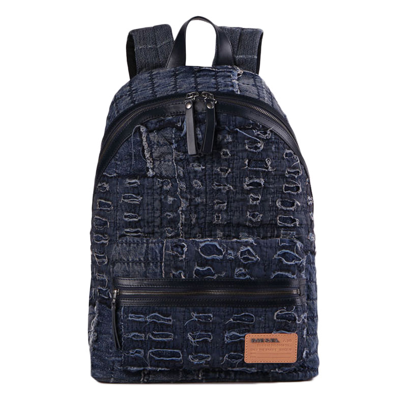 Diesel - Sac à dos denim finition destroy homme